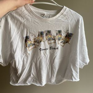 Vintage Venice beach crop top!!